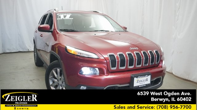 Pre-Owned 2017 Jeep Cherokee Limited