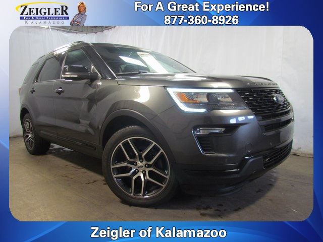 Ford Explorer Sport For Sale >> Pre Owned 2018 Ford Explorer Sport 4d Sport Utility For Sale