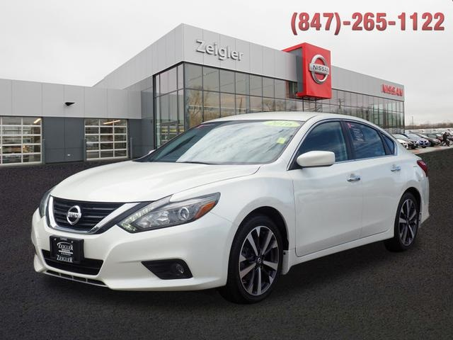 2016 Nissan Altima 2 5 Sr >> Certified Pre Owned 2016 Nissan Altima 2 5 Sr Fwd 4d Sedan