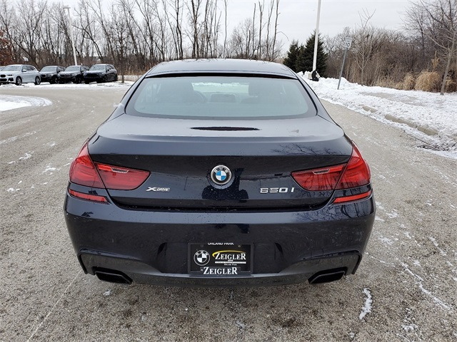 Pre-Owned 2017 BMW 6 Series 650i xDrive Gran Coupe