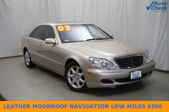 Pre-Owned 2003 Mercedes-Benz S-Class S 500