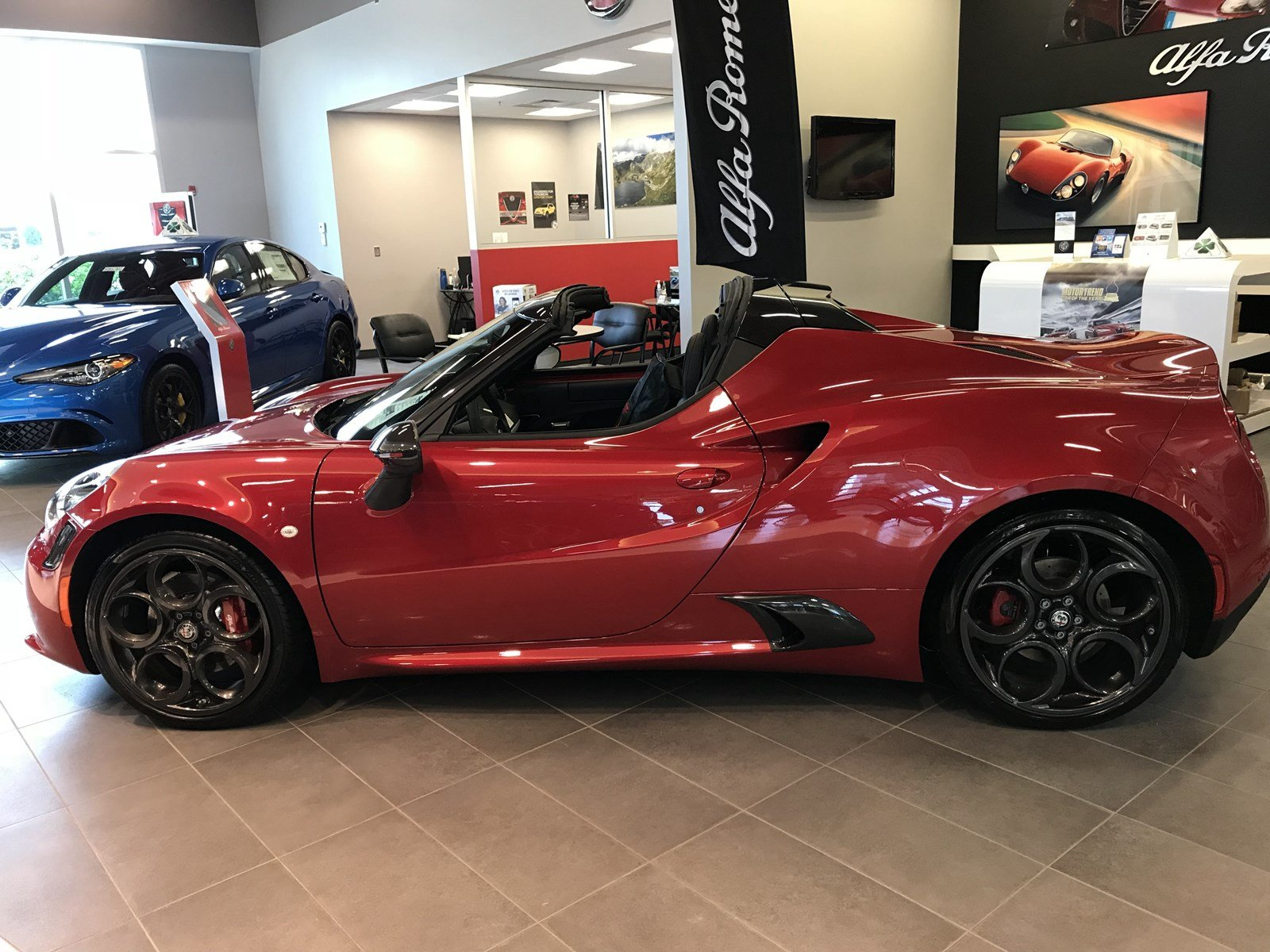 New 2018 Alfa Romeo 4C Spider Convertible for Sale R