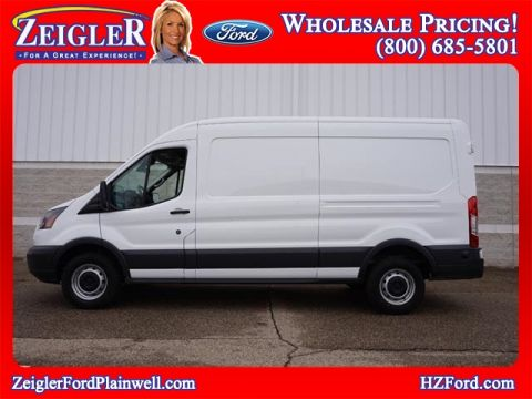 Pre-Owned 2018 Ford Transit-250 Extended Cargo Med Roof 250