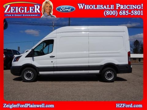 Pre-Owned 2018 Ford Transit-250 Extended Cargo High Roof 3.7L