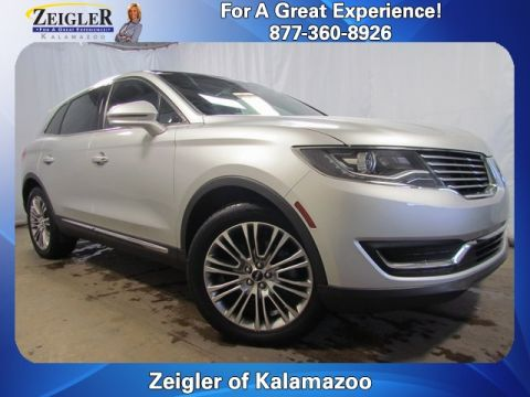 Certified Pre-Owned 2017 Lincoln MKX Reserve