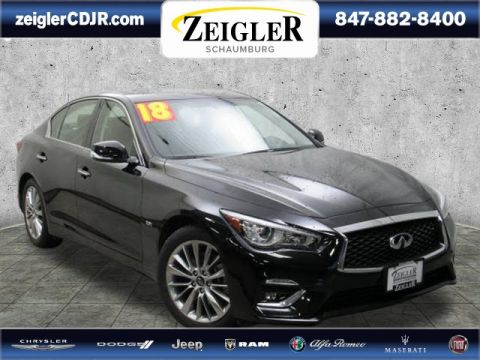 Pre-Owned 2018 INFINITI Q50 2.0t LUXE